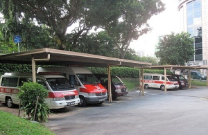 Singapore Red Cross Ambulances