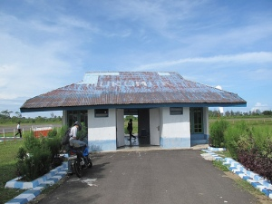 The Terminal Building at Mukomuko International Airport