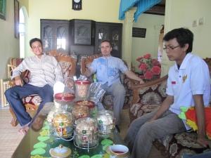 Ab dem zweiten Tag des Fest des Fastenbrechens besucht man Freunde zuhause