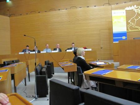 Das Panel, mit Marcel Wolf vom DV JGR