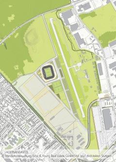 16-05 Anlage Flugplatz Stadion Wolfswinkel vorläufiger Standort